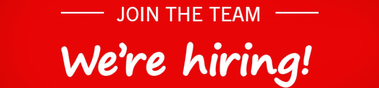 **We're hiring!**